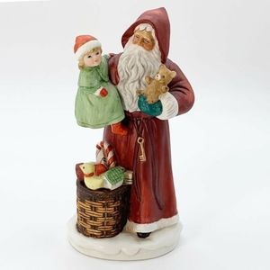 Vintage HOMCO Santa Figurine #5118 Christmas Decor